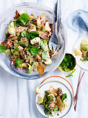 Potato and Salmon Salad with Mustardy dressing