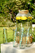 Lemon flavoured water
