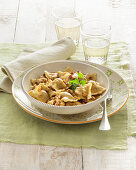 Agnolotti casalesi (pasta bag with meat filling, Italy)