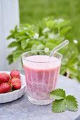 Strawberry Buttermilk Shake