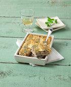 Tortiera di sarde alla barese (sardine casserole from Bari, Italy)