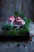 Lingonberry cream