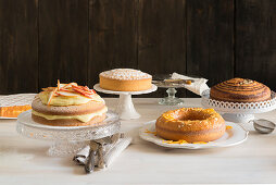 A cake buffet