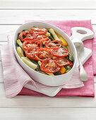 Ghiotta di verdure (vegetable gratin, Italy)