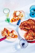 Peach pie with Bellinin