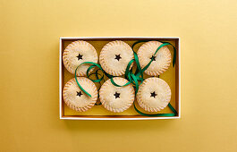 All butter mince pies