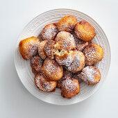 Oliebollen (fried yeast balls, The Netherlands)