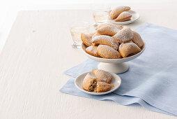 Cassatelle palermitane (Sardinian Shrove pastries, Italy)