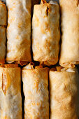 Asian spring rolls with minced lamb