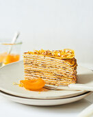 Crepe-Kuchen