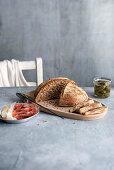 Scandinavian buttermilk bread