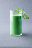 Avocado and coriander smoothie