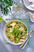 Risotto with asparagus and parmesan