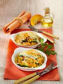 Herbstliche Kürbis-Lasagne