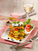 Pumpkin and Rösti tower