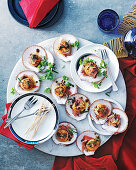 Scallops with rosemary and quince butter