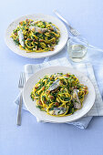 Linguine alla Palermo with sardines
