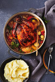 Apricot chicken pot roast
