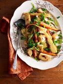 Caramelised Autumn vegetables