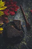 Chocolate orange cake with almond flour