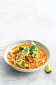 Northern thai noodle curry
