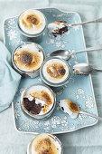 Chocolate marshmallow cups