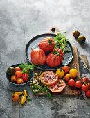 Tomato still life
