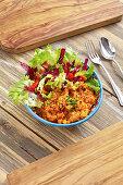 Lentil Dal Salad