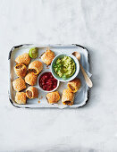 Mexican sausage rolls