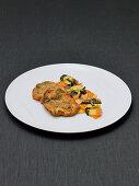 Kalbsschnitzel mit warmem Kartoffel-Trüffel-Salat