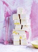 Sour lemon sherbet marshmallows