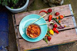 Pepper kimchi