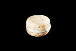 A vanilla macaroon