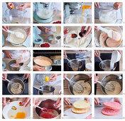 Baking punch cake