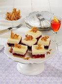 Tipsy berry cheesecake
