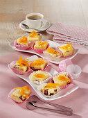 Cheesecake pralines