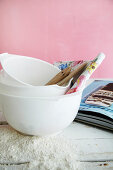 Mixing bowls for baking