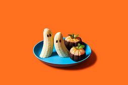 Kids fruit arrangement