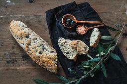 Olive baguette