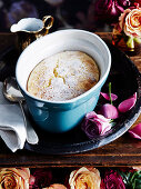 Marmalade Delicious (lemon pudding) in baking dish