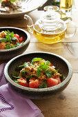 Thai watermelon salad