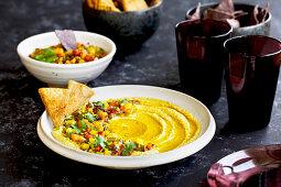 Multi Roasted Pepper Hummus