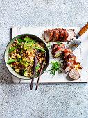 XO Fried Rice with Char Sui Pork