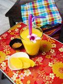 Thai mango lassi