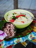 Tom Kha Gai (Thai coconut soup with chicken)