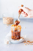 Peanut caramel salted