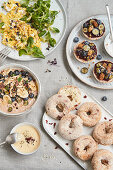 Vegan, gluten-free feel-good breakfast