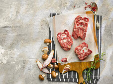 Raw Lamb Neck with Bone