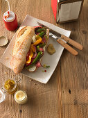 Philly Cheesesteak Sandwich (USA)