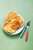 Banana-Spelt Pancakes